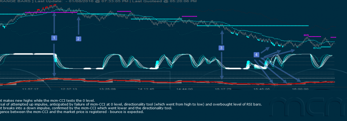 RSI Cycle Chart with mcm-CCI Advanced